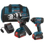 Bosch cordless drill combo kit review