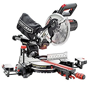 "Craftsman 10"" Single Bevel Sliding Compound Miter Saw review"