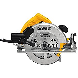 DEWALT DWE575SB saw with electric brake review