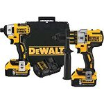 Dewalt DCK296P2 20V XR Brushless Hammerdrill & Impact Driver Combo Kit review