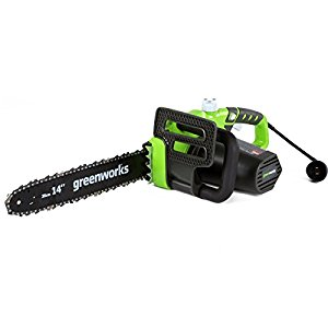 GreenWorks 20222 electric chainsaw review