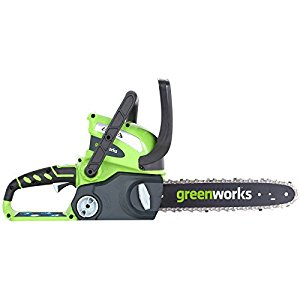 GreenWorks 20312 Cordless chainsaw reviews