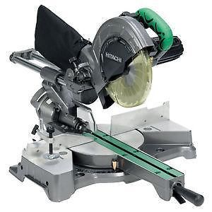 "Hitach 12"" compound sliding miter saw review"