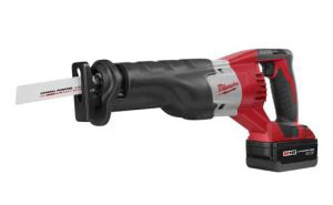Milwaukee cordless sawzall - our top pick
