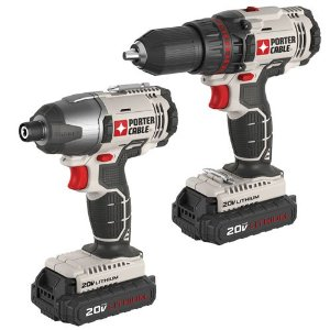 Porter-Cable PCCK604L2 20-Volt Max Lithium 2 Tool Combo Kit review