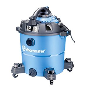 Vacmaster 12 Gallon, 5 Peak HP, Wet_Dry Vacuum with Detachable Blower, VBV1210