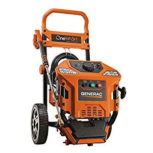 Generac 6602 Onewash 3100 Psi Gas-Powered Pressure Washer