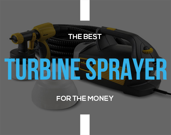 Turbine paint sprayer