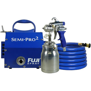 Fuji semi pro paint sprayer review