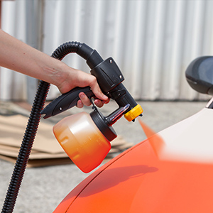 automotive paint sprayer for fast and even coats