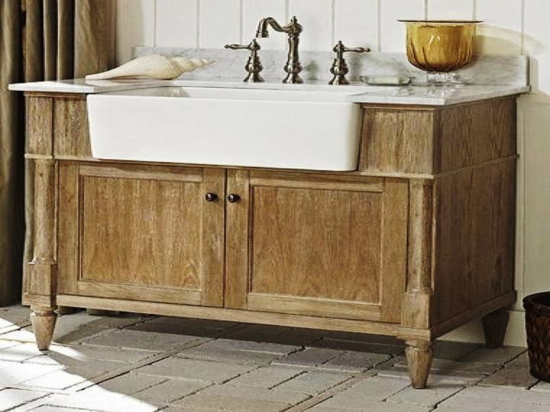 Farmhouse Rustic style vanity