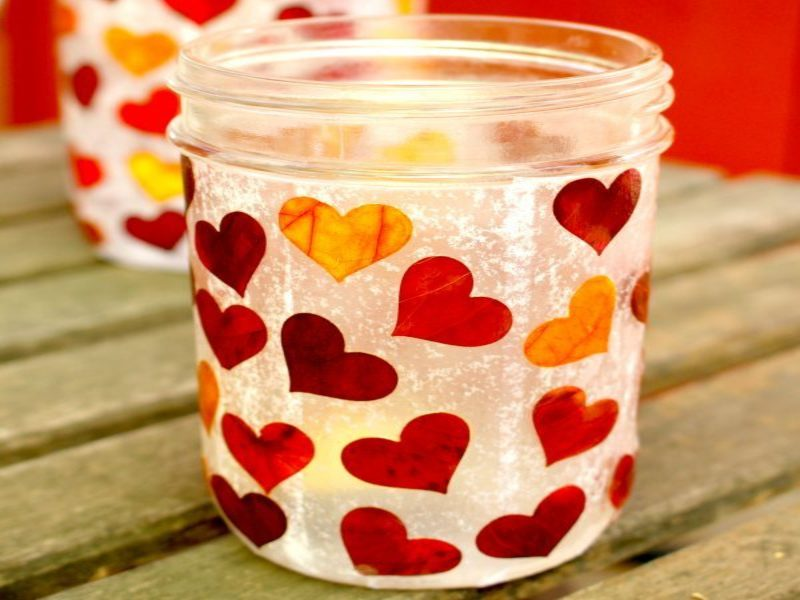 Valentines inspired mason jar ideas