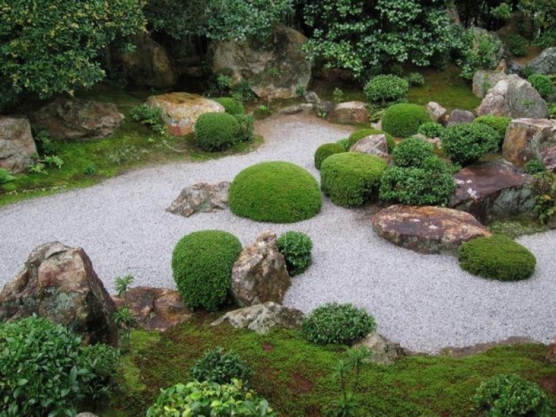 Japanese dry creek bed design ideas